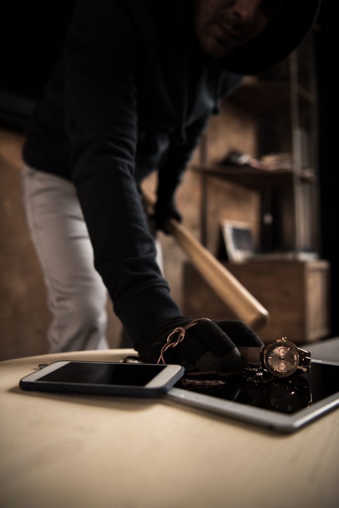 The Household Items Most Likely to be Stolen in a Burglary